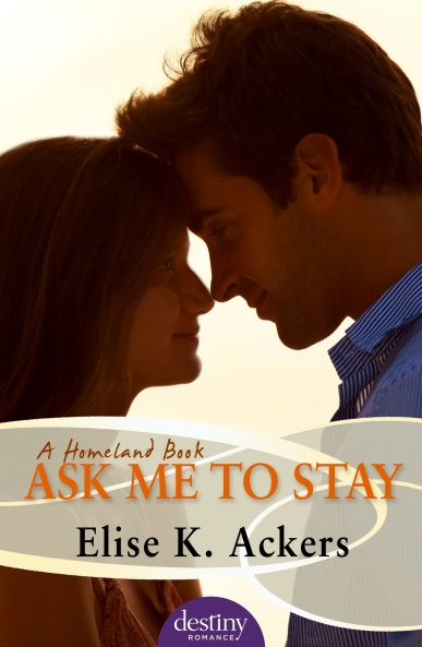 AskMeToStay cover - Elise K. Ackers