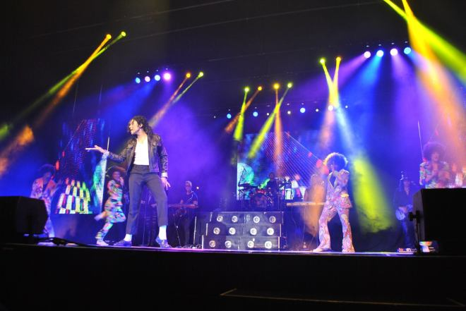 Photo is from the Michael Jackson History Tribute Show Facebook page.